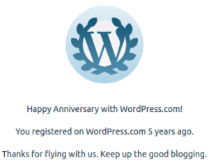 wordpress 5 godina
