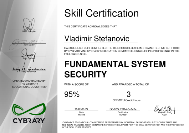 cybrary-cert-fundamental-system-security