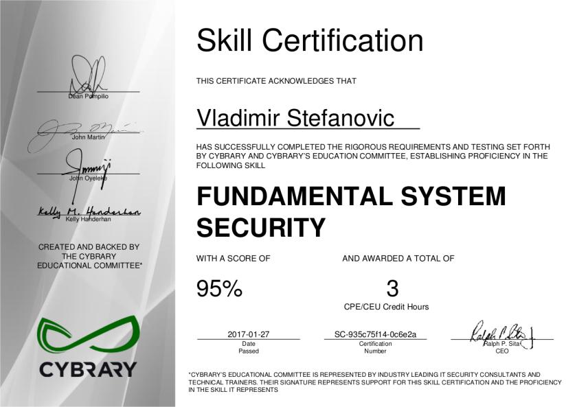 cybrary-cert-fundamental-system-security