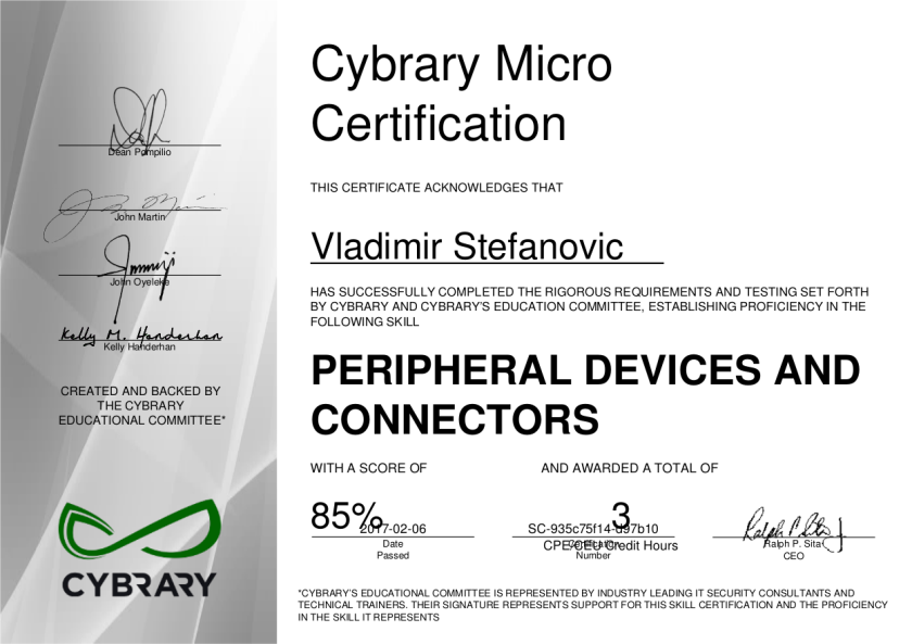 cybrary-cert-peripheral-devices-and-connectors